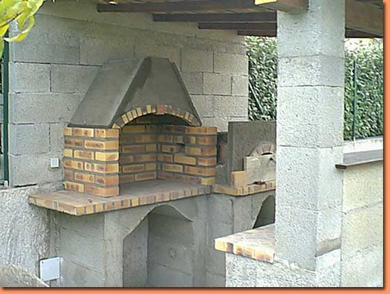 Construire Hotte Barbecue Barbecue Ciment R Fractaire
